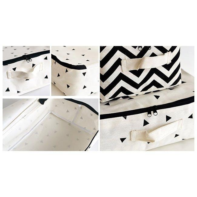 Casey Storage Case - Medium - Stripes - 1
