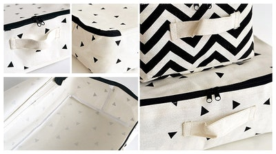 Casey Storage Case - Stripes - Image 2