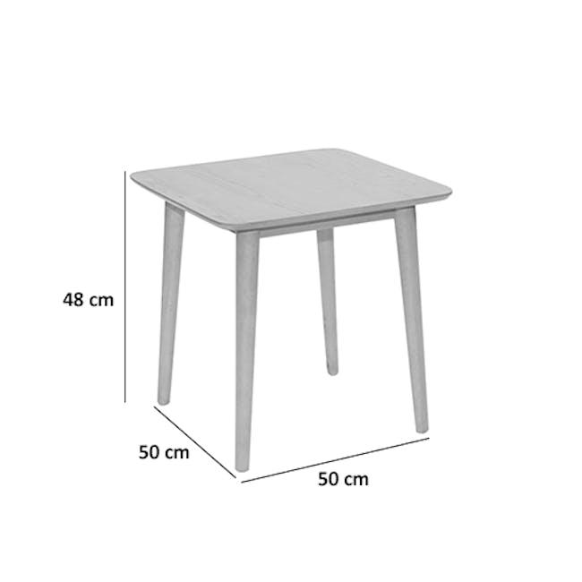 Blythe Side Table - Oak - 4
