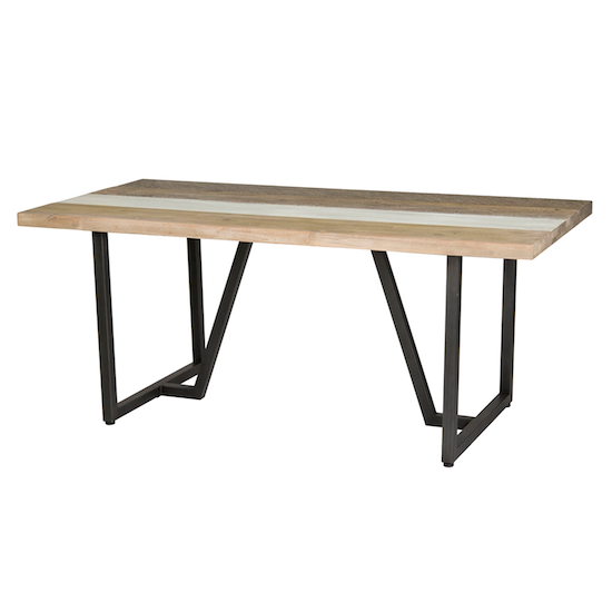 HipVan Bundles - Xavier Dining Table 1.8m with Xavier Bench 1.5m and 2 Xavier Dining Chairs