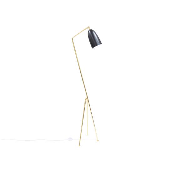 Sparker - Grasshoppa Floor Lamp - Black, Brass