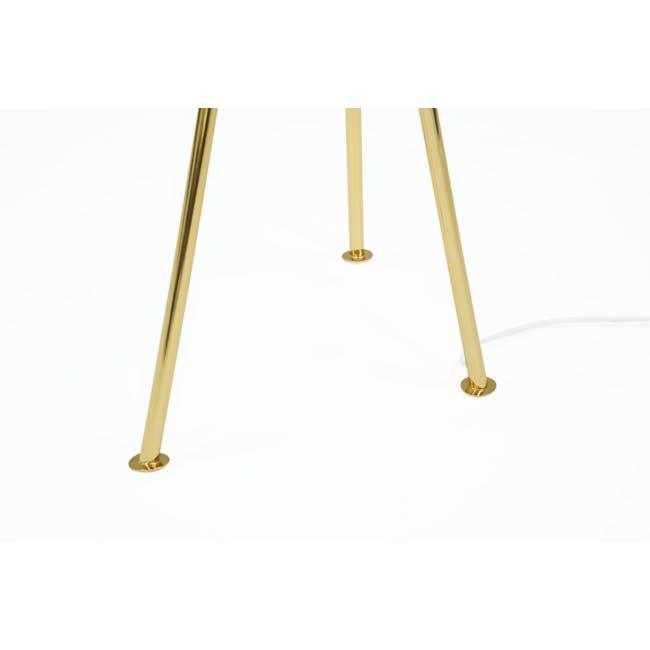 Grasshoppa Floor Lamp - Black, Brass - 3