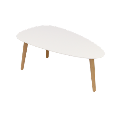 Avery Coffee Table - White - Image 1