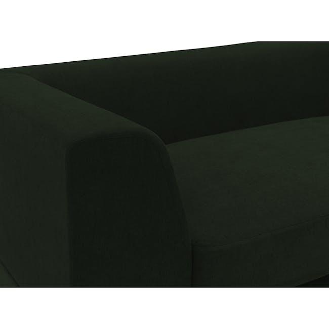 Abby L-Shaped Lounge Sofa - Olive - 8