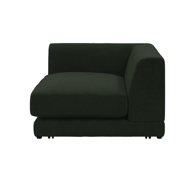 Abby 4 Seater Lounge Sofa - Olive - 5