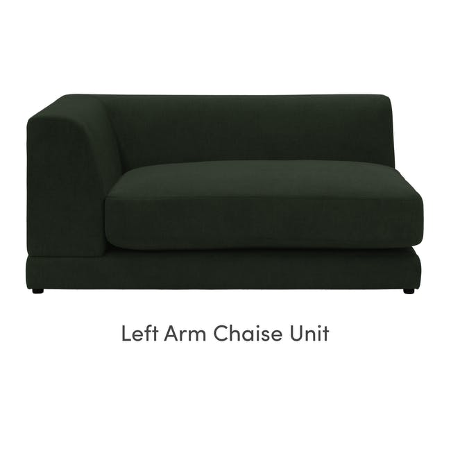 Abby 4 Seater Lounge Sofa - Olive - 7