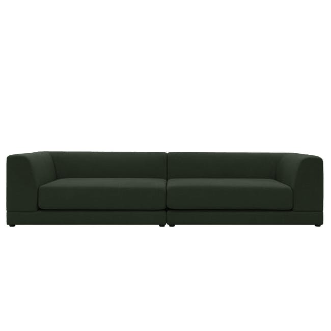 Abby 4 Seater Lounge Sofa - Olive - 12