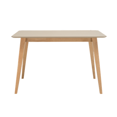 Ralph Dining Table 1.2m - Natural, Taupe Grey - Image 1