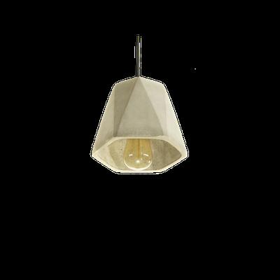 Keisha Concrete Hexangonal Lamp - Image 2