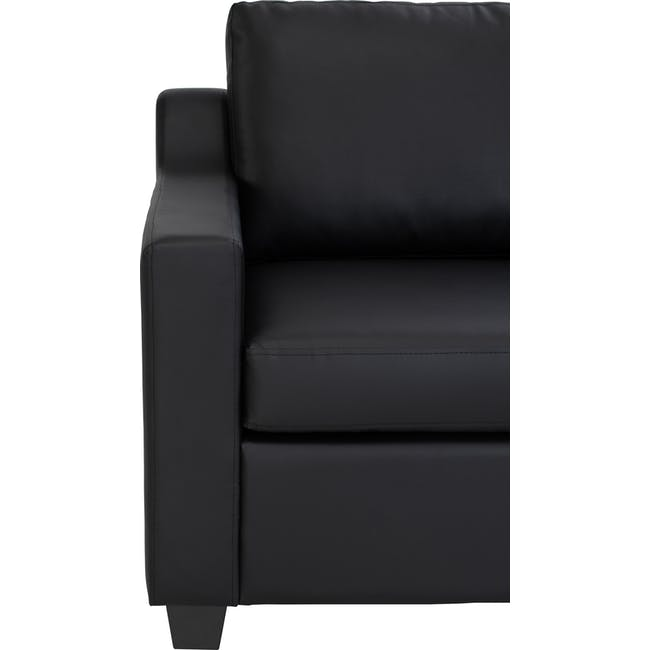 Baleno 2 Seater Sofa - Espresso (Faux Leather) - 4