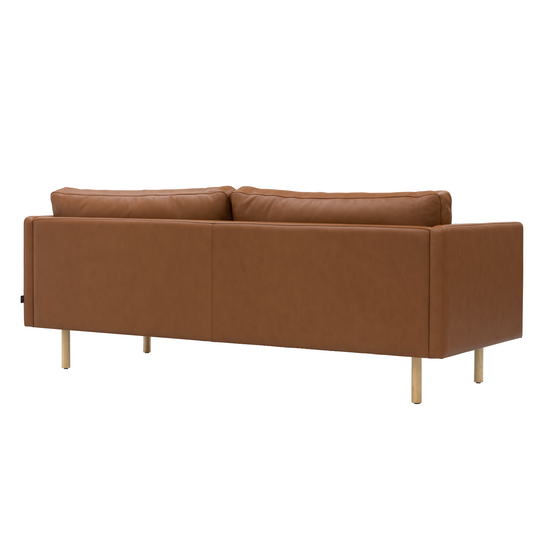 Helga - Rexton 3 Seater Sofa - Tawny (Cowhide), Down Feathers