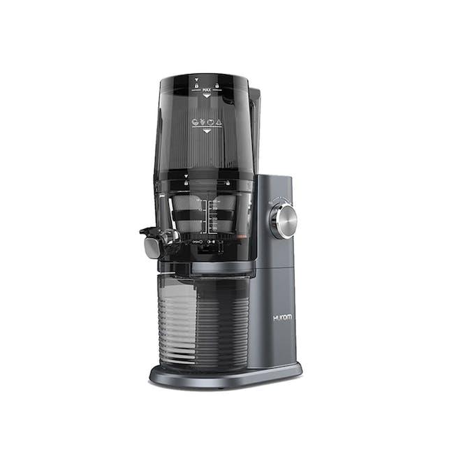 Hurom HI-3400 Cold Pressed Slow Fruit Juicer Premium Series - Midnight Blue - 0
