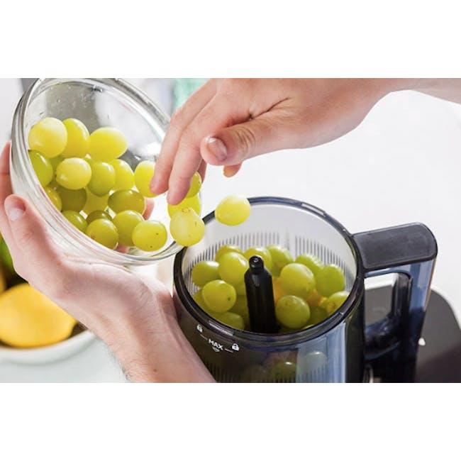 Hurom HI-3400 Cold Pressed Slow Fruit Juicer Premium Series - Midnight Blue - 2