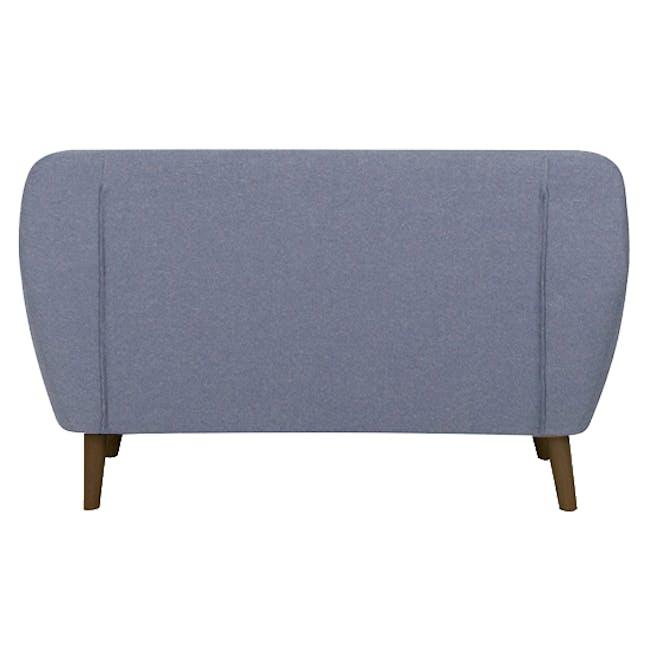 Emma 2 Seater Sofa with Emma Armchair - Dusk Blue - 3