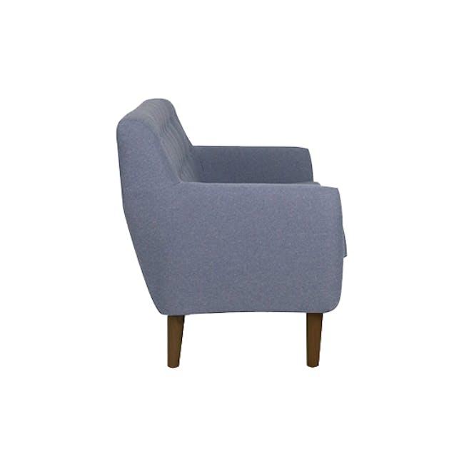 Emma 2 Seater Sofa with Emma Armchair - Dusk Blue - 4