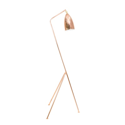 Grasshoppa Floor Lamp with E27 Bulb - Copper - Image 2