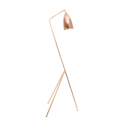 Grasshoppa Floor Lamp with E27 Bulb - Copper