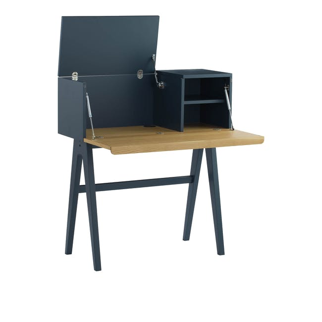 Valen Study Table - Space Blue - 3