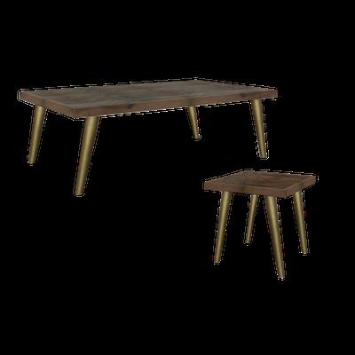 Cadencia Coffee Table with Cadencia Side Table - Image 1