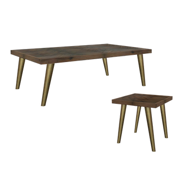 Cadencia Coffee Table with Cadencia Side Table - Image 1