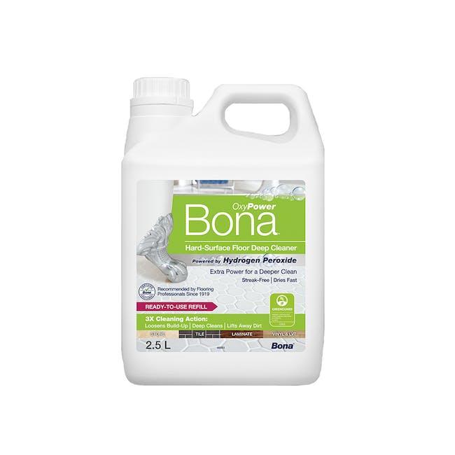Bona OxyPower Hard-Surface Floor Deep Cleaner Refill 2.5L - 0