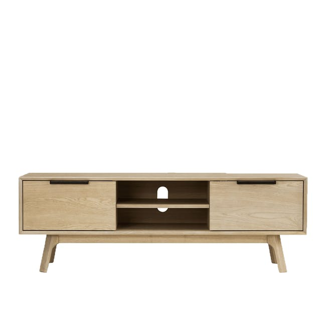 Noud TV Console 1.5m with Nora Rattan Coffee Table - 2