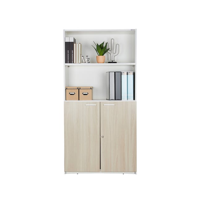 Archie Tall Cabinet - White - 2