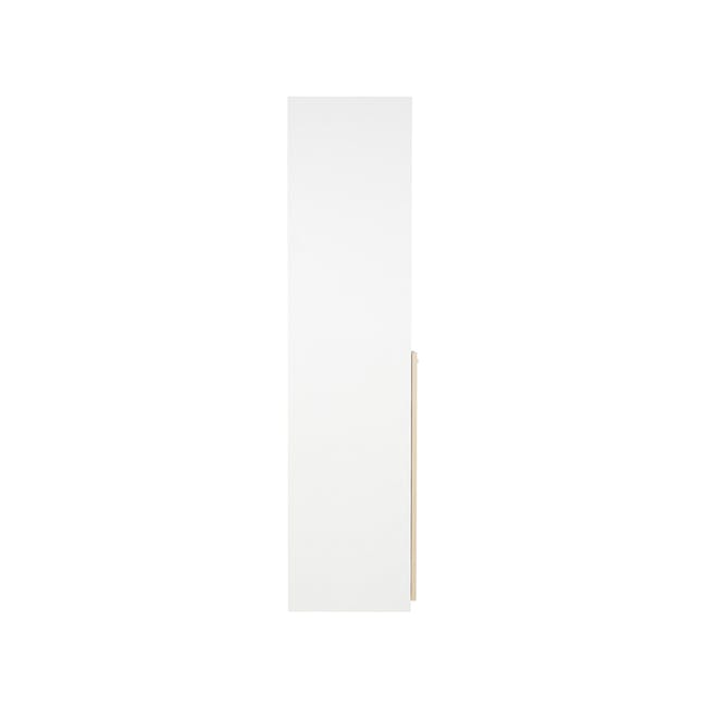 Archie Tall Cabinet - White - 6