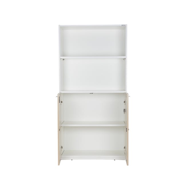 Archie Tall Cabinet - White - 4