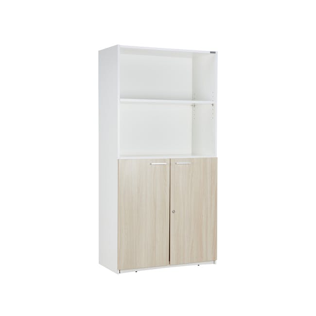 Archie Tall Cabinet - White - 0