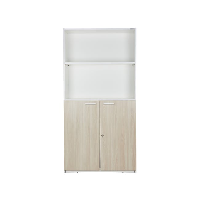 Archie Tall Cabinet - White - 5