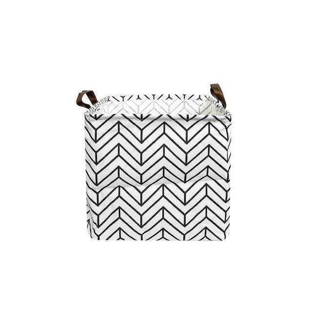 HOUZE Small Laundry Bag - Herringbone - 0