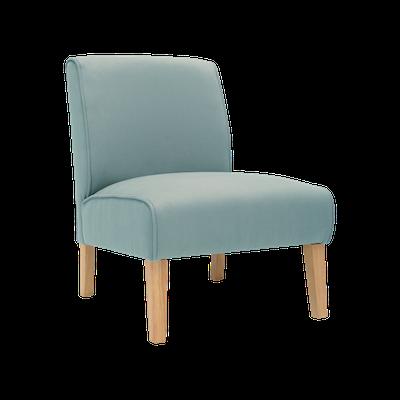 Maya Lounge Chair - Natural, Jade - Image 2