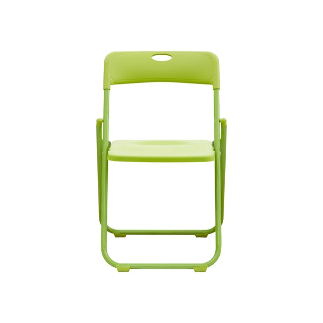 Nixon Folding Chair - Lime Green - 1