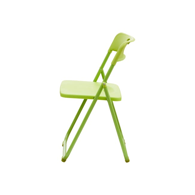 Nixon Folding Chair - Lime Green - 2