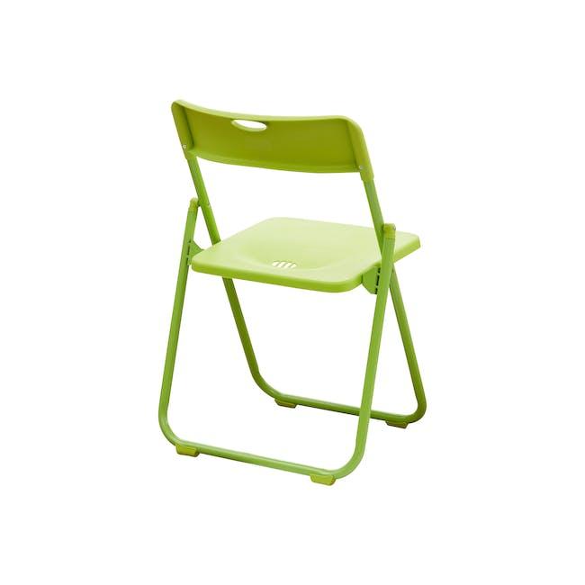 Nixon Folding Chair - Lime Green - 3