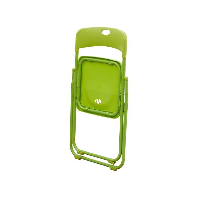 Nixon Folding Chair - Lime Green - 4
