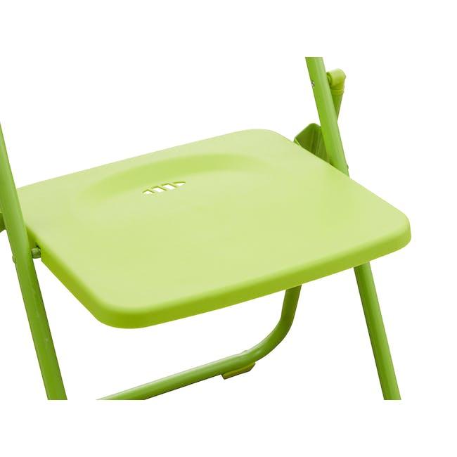 Nixon Folding Chair - Lime Green - 5