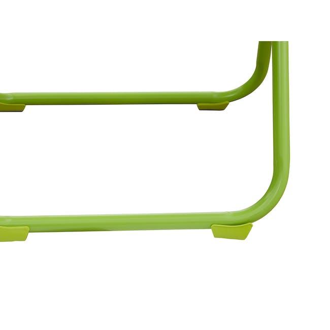 Nixon Folding Chair - Lime Green - 6