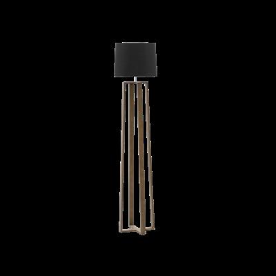 (As-is) Amber Floor Lamp - Walnut - 2 - Image 1