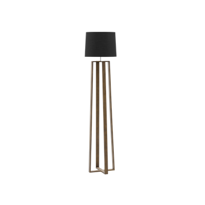 Amber Floor Lamp - Walnut - Image 1
