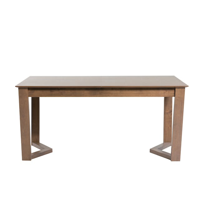 Meera Extendable Dining Table 1.6m - Cocoa - 10