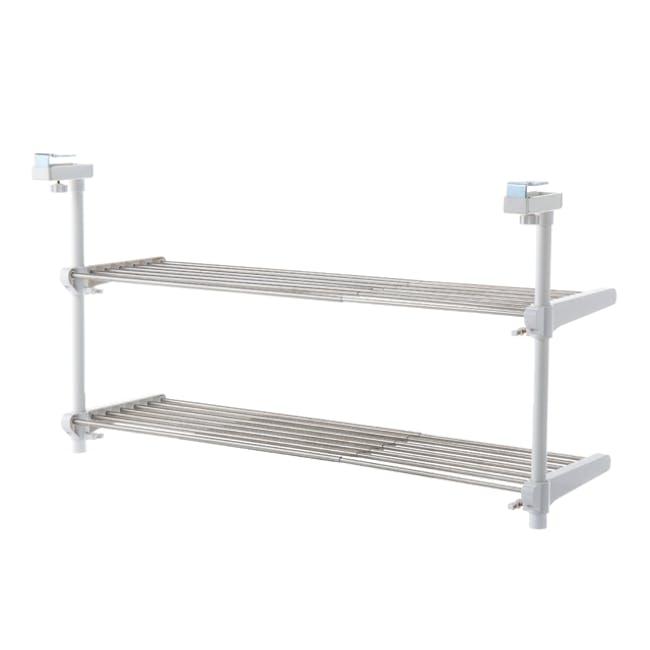 HEIAN 2-Tier Adjustable Kitchen Hanging Shelf - 2