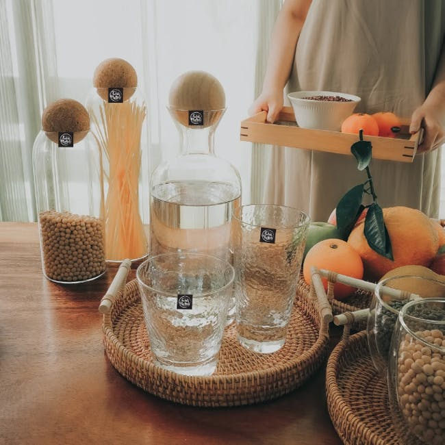 Table Matters Tsuchi Long Drinking Glass - 3
