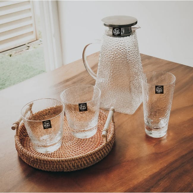 Table Matters Tsuchi Long Drinking Glass - 1