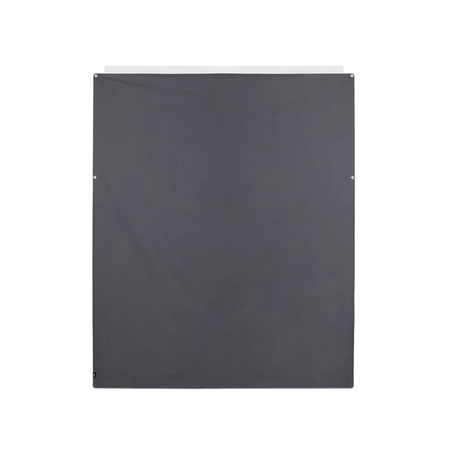 Complete Blackout Magnetic Window Cover - Charcoal - 17