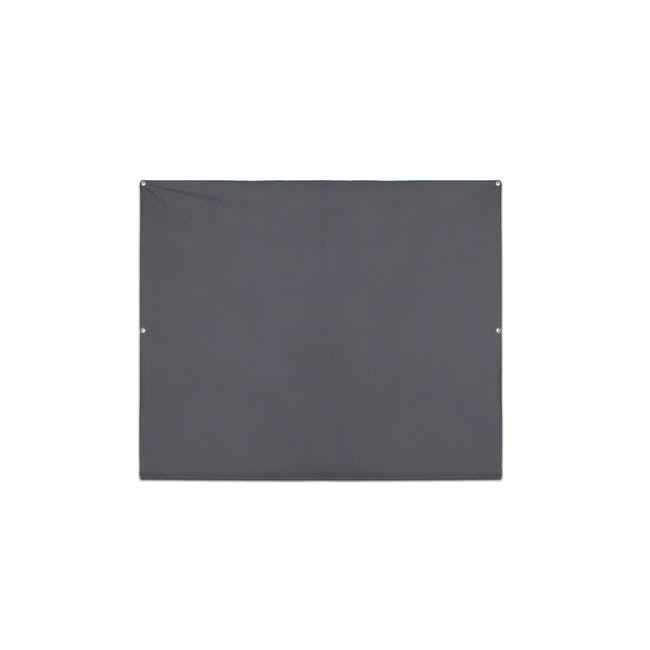 Complete Blackout Magnetic Window Cover - Charcoal - 12