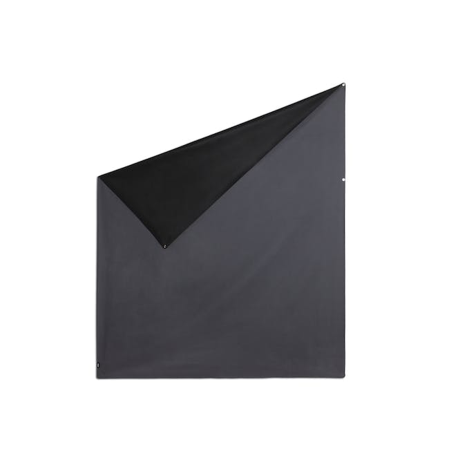 Complete Blackout Magnetic Window Cover - Charcoal - 15
