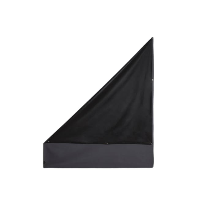 Complete Blackout Magnetic Window Cover - Charcoal - 16