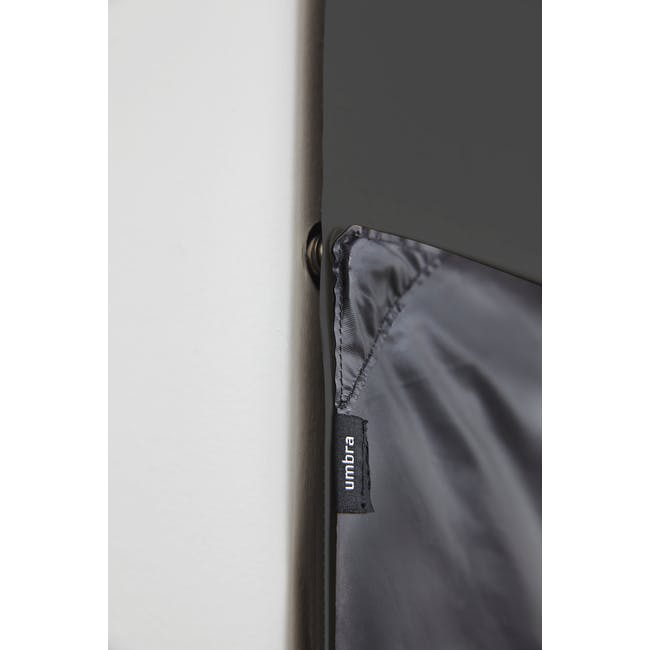 Complete Blackout Magnetic Window Cover - Charcoal - 23